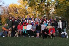 Group Beer Mile World Record Team