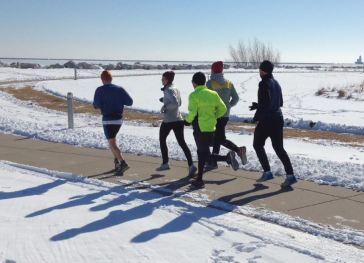 2015-02-28 - OMG Saturday Run 9 degrees Dean's Back