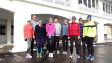 2015-02-07 Satruday Long Run from Bistro 2