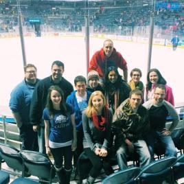 OMG Hockey Game with Maggie Banasik